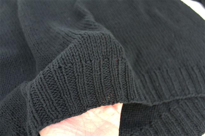 カシミアコットン手芸糸『Gently(ジェントリー)トップダウンで編むラグランプルオーバー』編み図と糸のキット