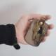 名入れ ヌメ革 春巻き キーケース レザー スマートキー キーリング 真鍮 二重カン プレゼント 刻印付き