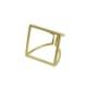 真鍮 丸三角四角 リング サークル トライアングル スクエア ゴールド レディース 可愛い プレゼント ギフト お洒落