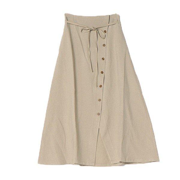 ファイユウエストリボンラップスカート