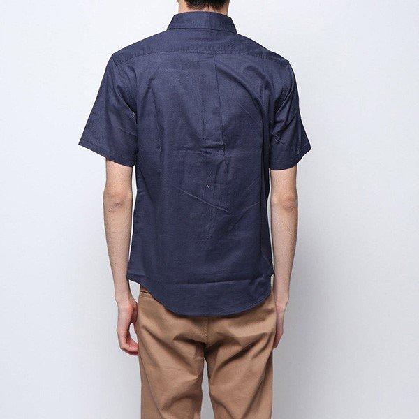 綿麻ストレッチレギュラーシャツ