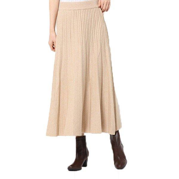 ミラノリブマルチプリーツスカート