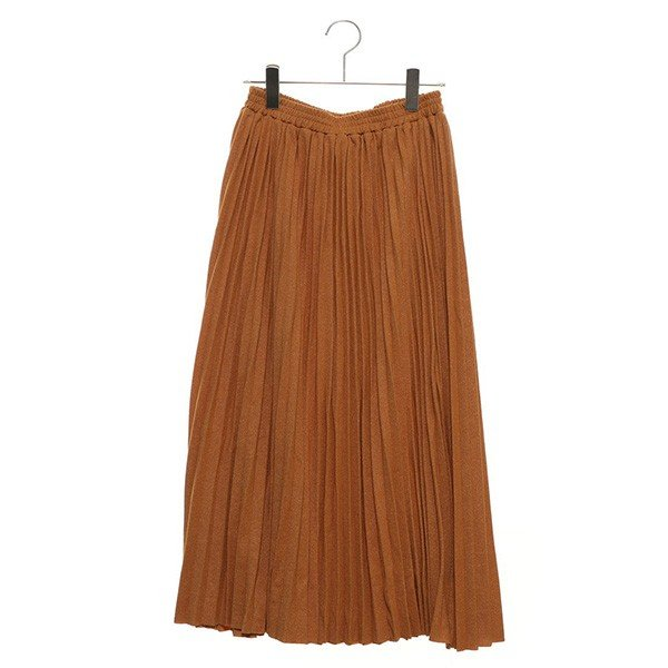 ラメポンチプリーツスカート