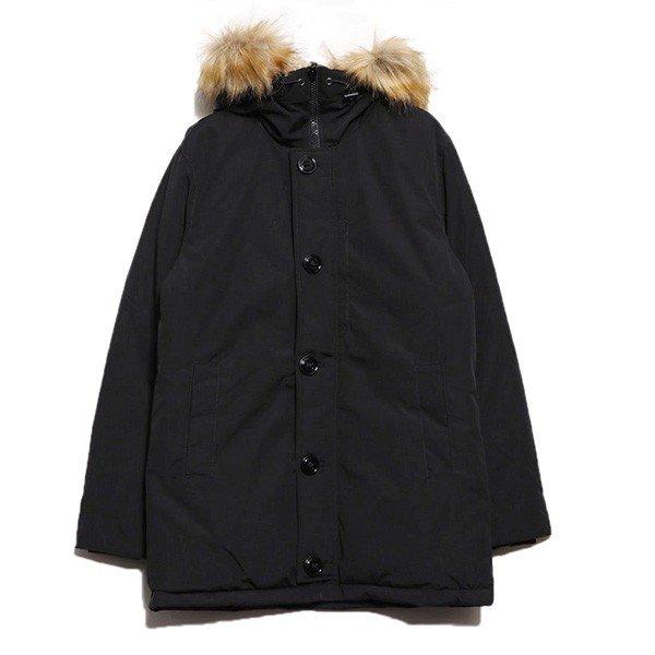 【送料無料】タスランファー付き中綿コート