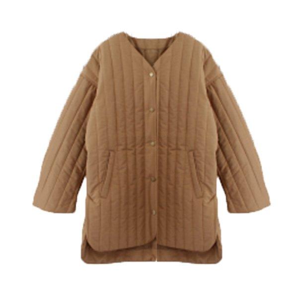 高密度タフタ縦キルティングジャケット