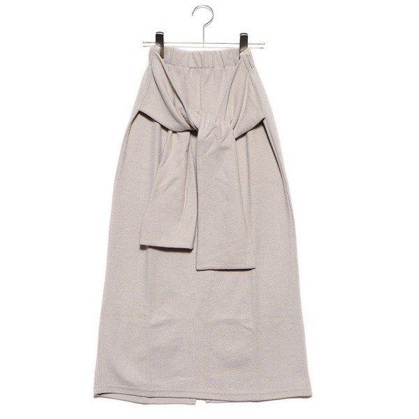 起毛サカリバリボンスカート