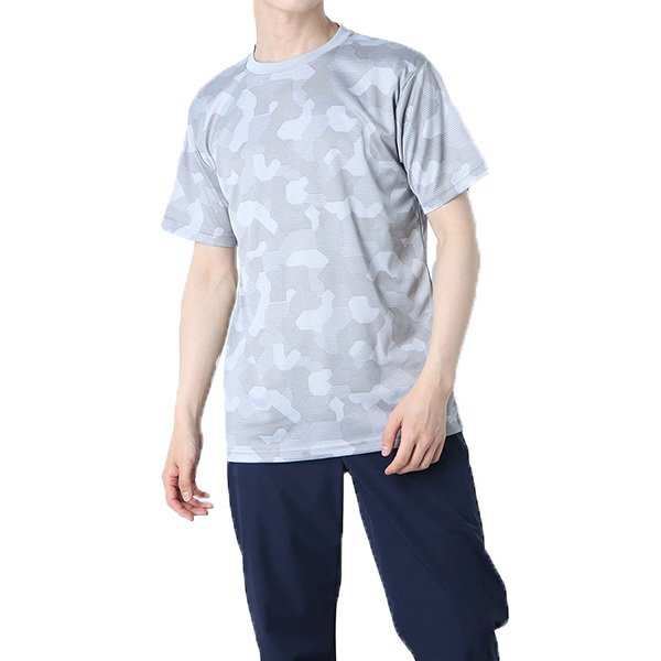 総柄ドライTシャツ