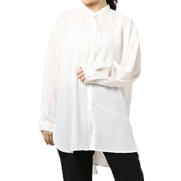 トロピカルバックスリットシャツ