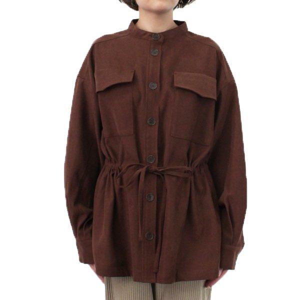 起毛サージシャツジャケット