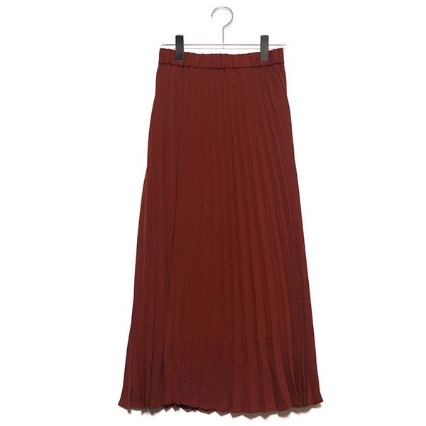 ジョーゼットプリーツスカート