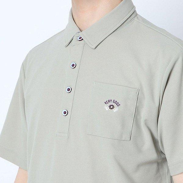 ドライカノコワンポイント刺繍ポロシャツ