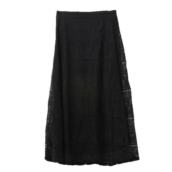 コードレースフレアスカート