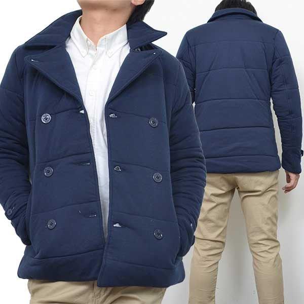 中綿ショートPコート