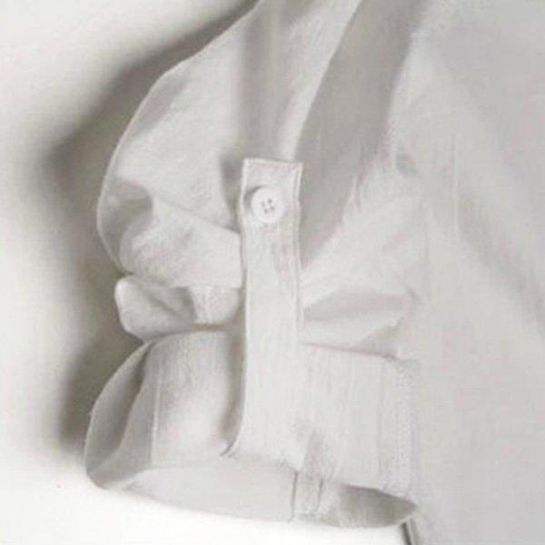 ロング丈シャツ
