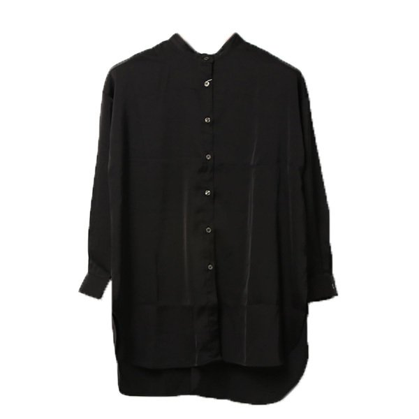 ヴィンテージサテンバックスリットシャツ
