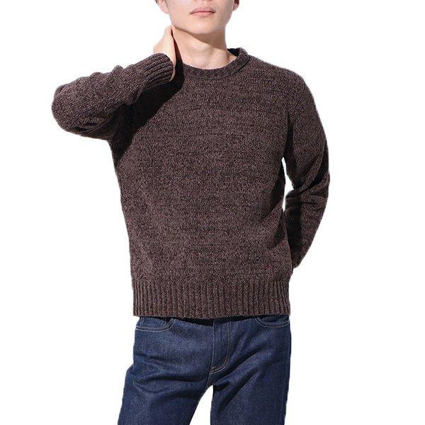 5Gモール天竺編クルーセーター