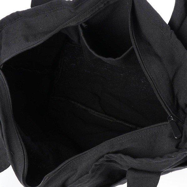 ポケット付きキャンバストートバッグ