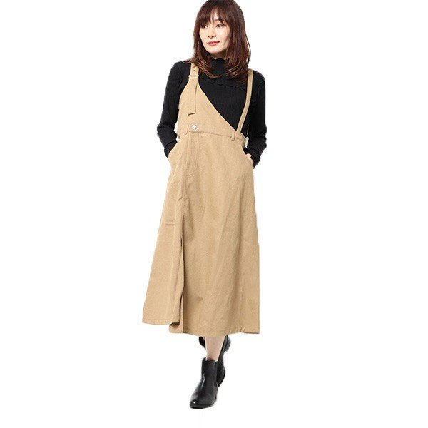 カツラギワンショルジャンパースカート