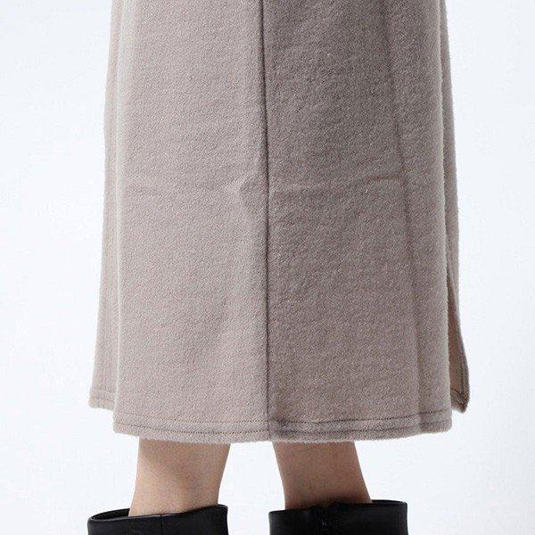スムース起毛タイトスカート