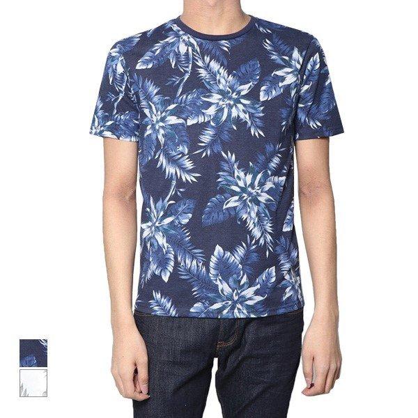 ボタニカル花柄Tシャツ