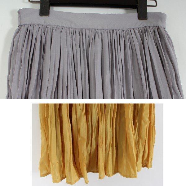 シフォンワッシャープリーツスカート