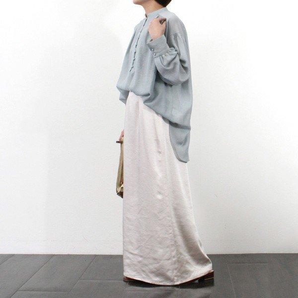 ヴィンテージサテンストレートマキシスカート