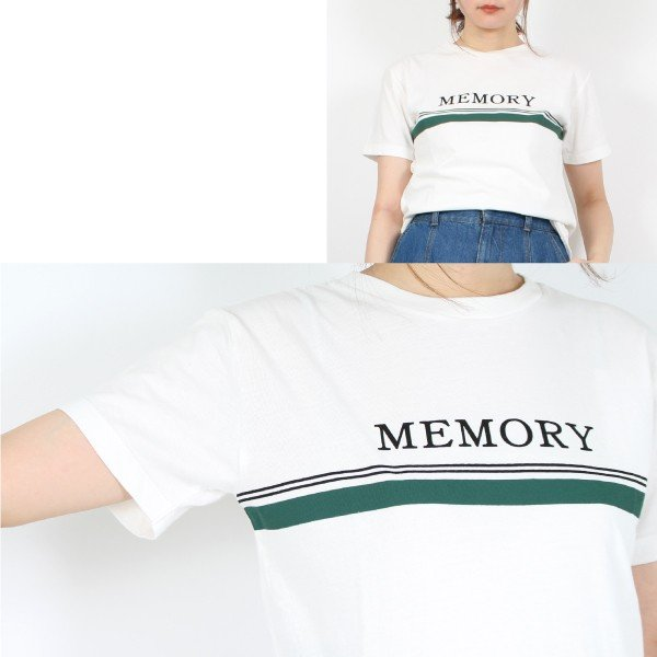 30sコーマ天竺ロゴプリントTシャツ