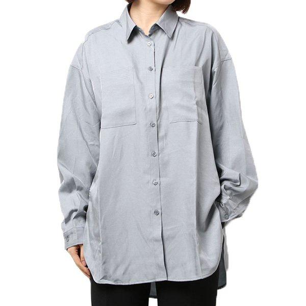 シャイニーポプリンシャツ