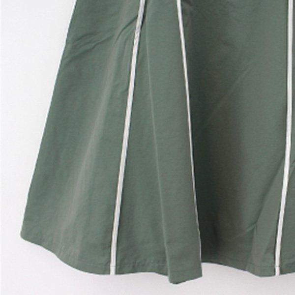 ウェザークロスパイピングスカート