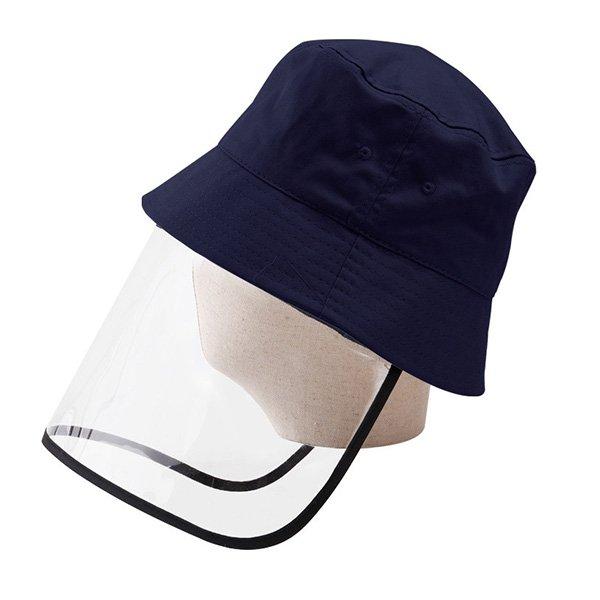 PVCカバー付きユニセックスバケットハット