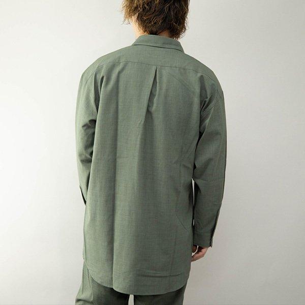 タイロッケンロングデザインシャツ