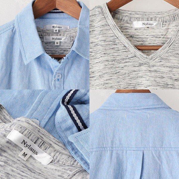 7分袖シャツ&半袖Tシャツアンサンブルセット