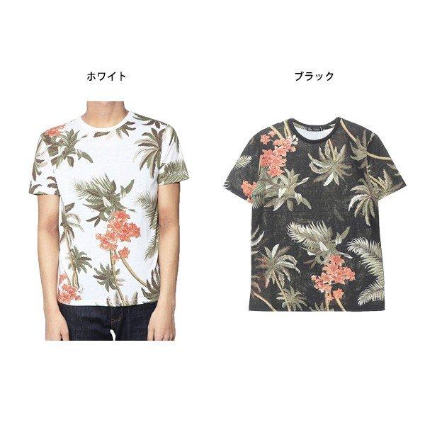 アロハ柄Tシャツ