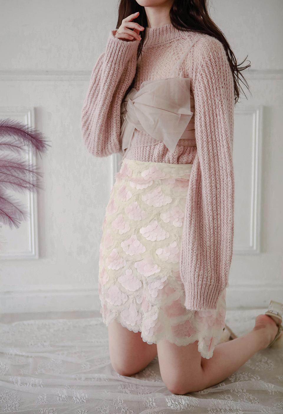 マーメイドスケールスカート