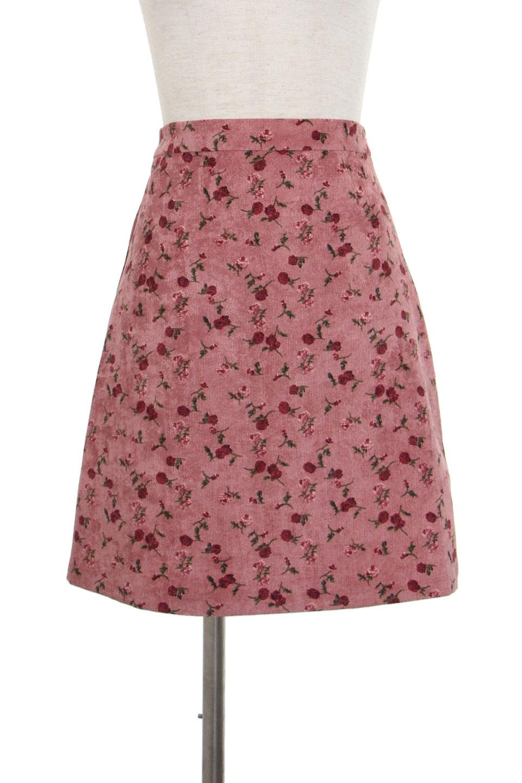 ヴィンテージ花柄台形スカート