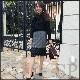 【即納可】裾レースタイトスカート
