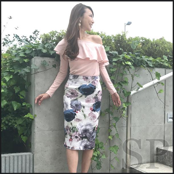 【即納可】アンティークローズペンシルスカート