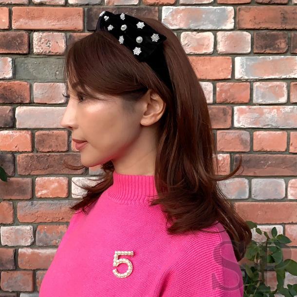 【2種類】No.5ブローチ