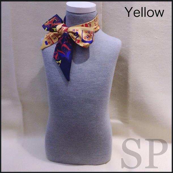 【即納可】リバーシブルロゴTwillyスカーフ