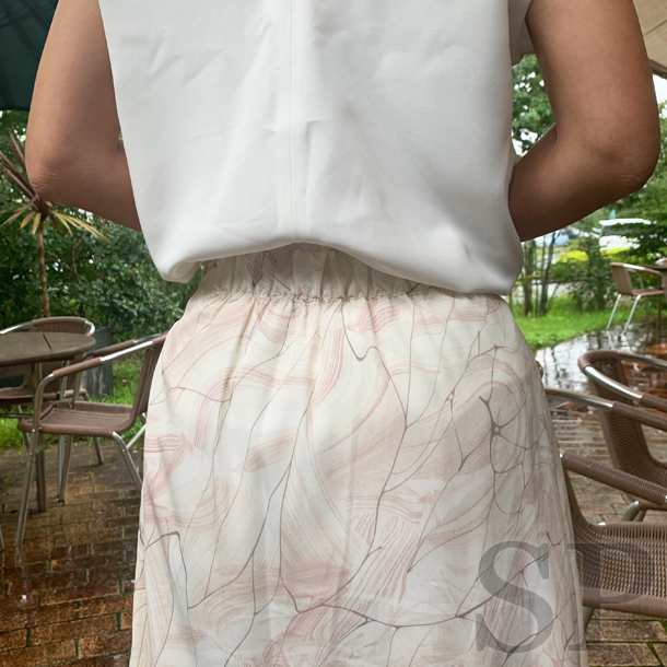【即納可】マーブルナロースカート