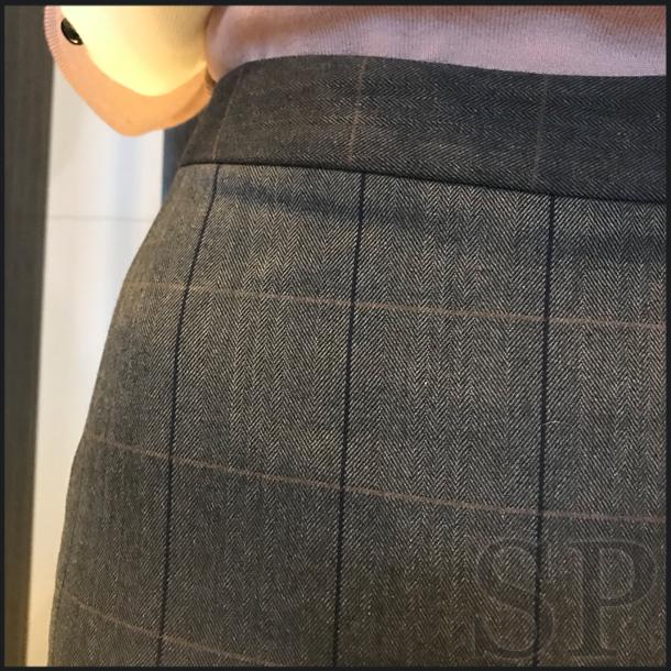 【50%off】チェックマーメイドスカート