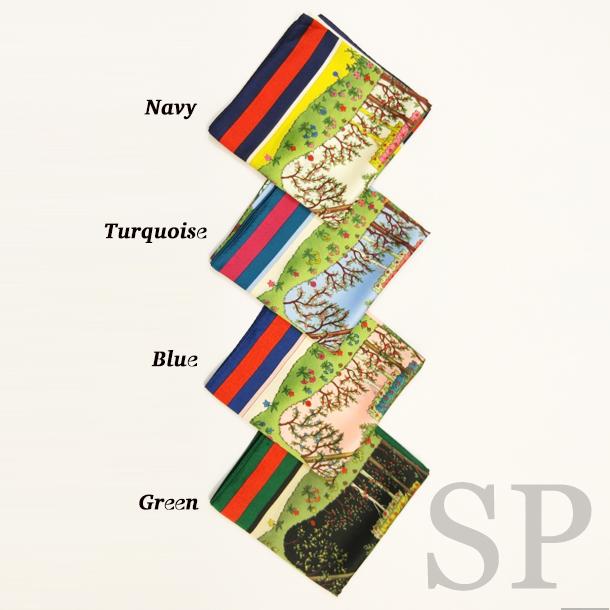 【一部即納可】シェリーガーデン正方形スカーフ