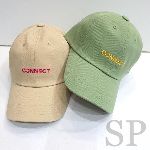 【即納可】CONNECT刺繍ロゴキャップ