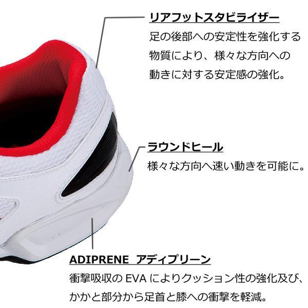 【送料無料】アディダス(adidas) バドミントンシューズビーティー フェザー チーム BT Feather Team G97860 バドミントン ラケット スポーツシューズ 2013年モデル