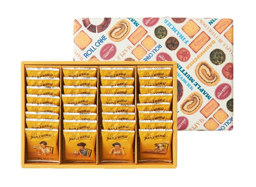 メープルバタークッキー32枚入