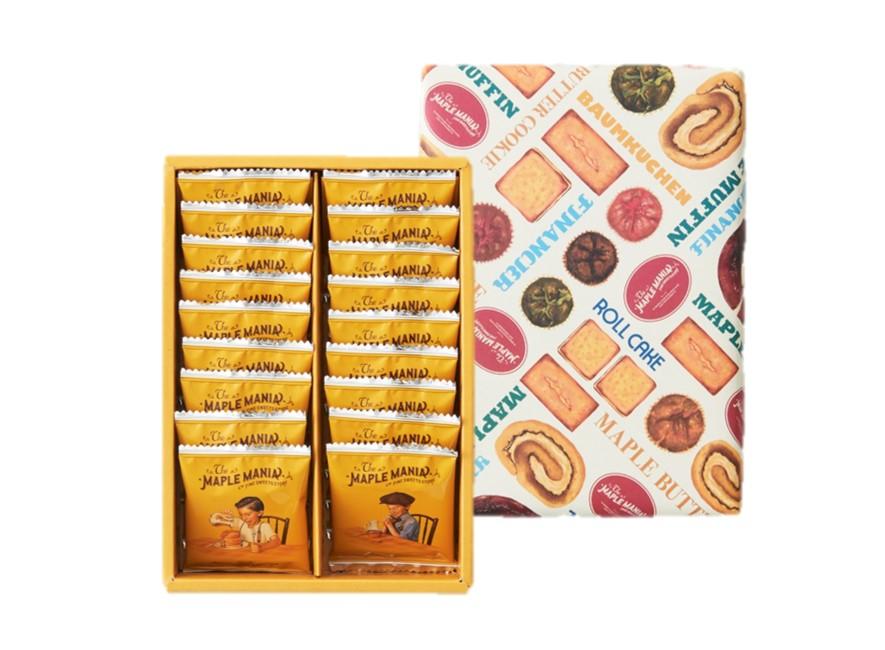 メープルバタークッキー18枚入