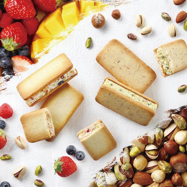 果実をたのしむサンドクッキー詰合せ10個入
