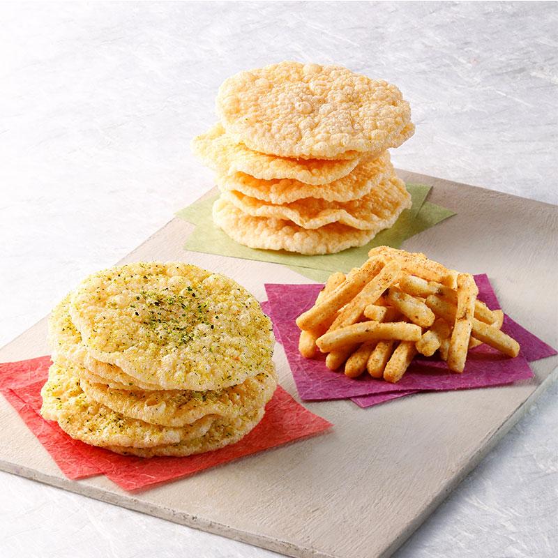 天ぷら三種詰合せ(れもん塩)