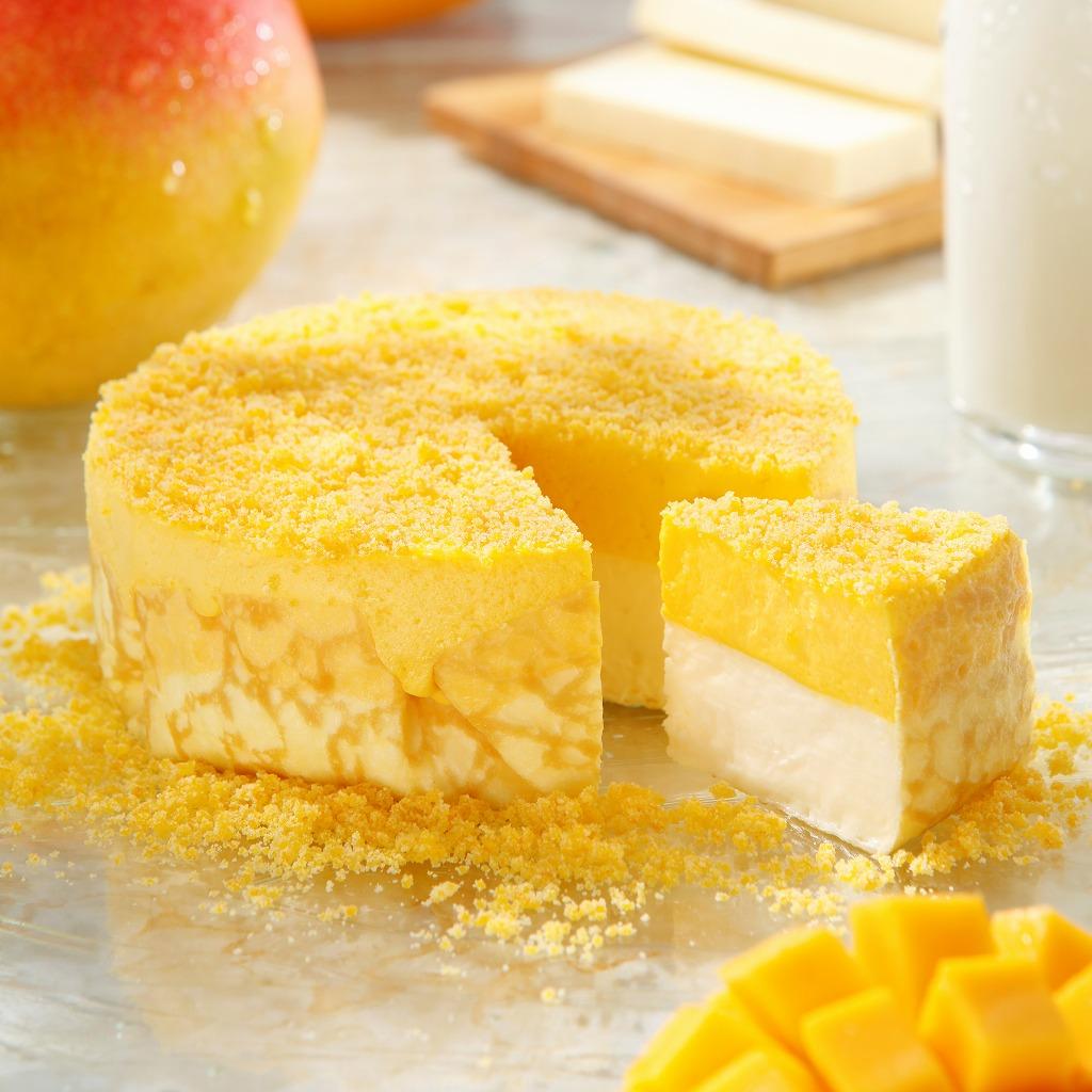 ミルクチーズケーキ マンゴー(冷凍発泡タイプ)