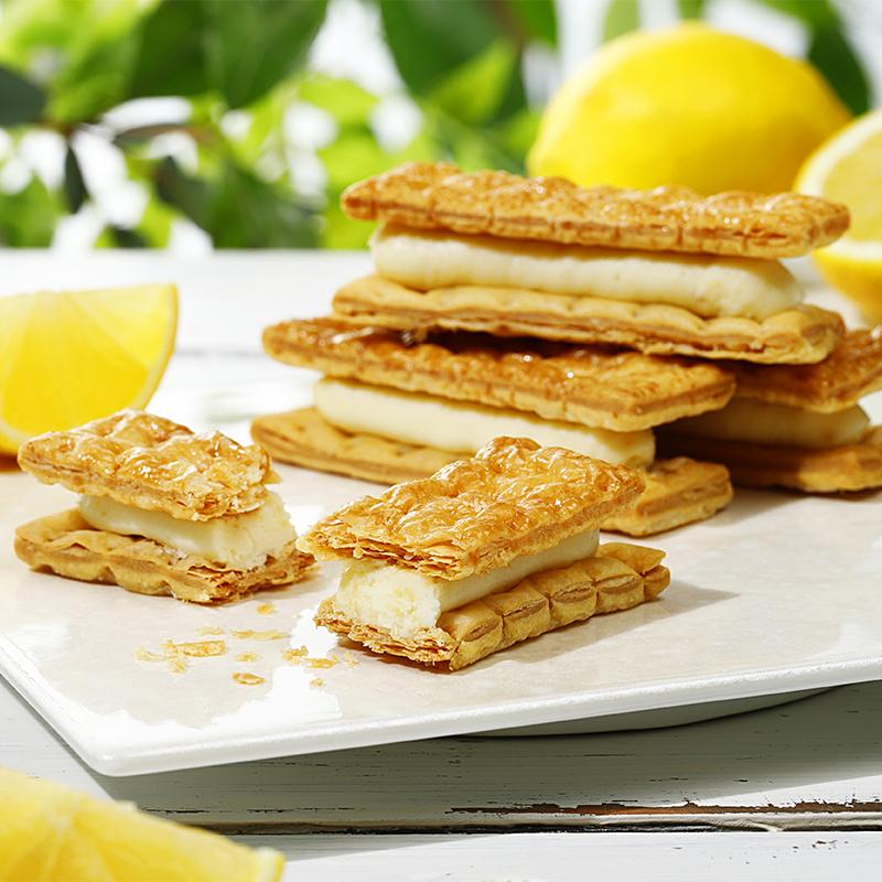 レモンチーズパイサンド